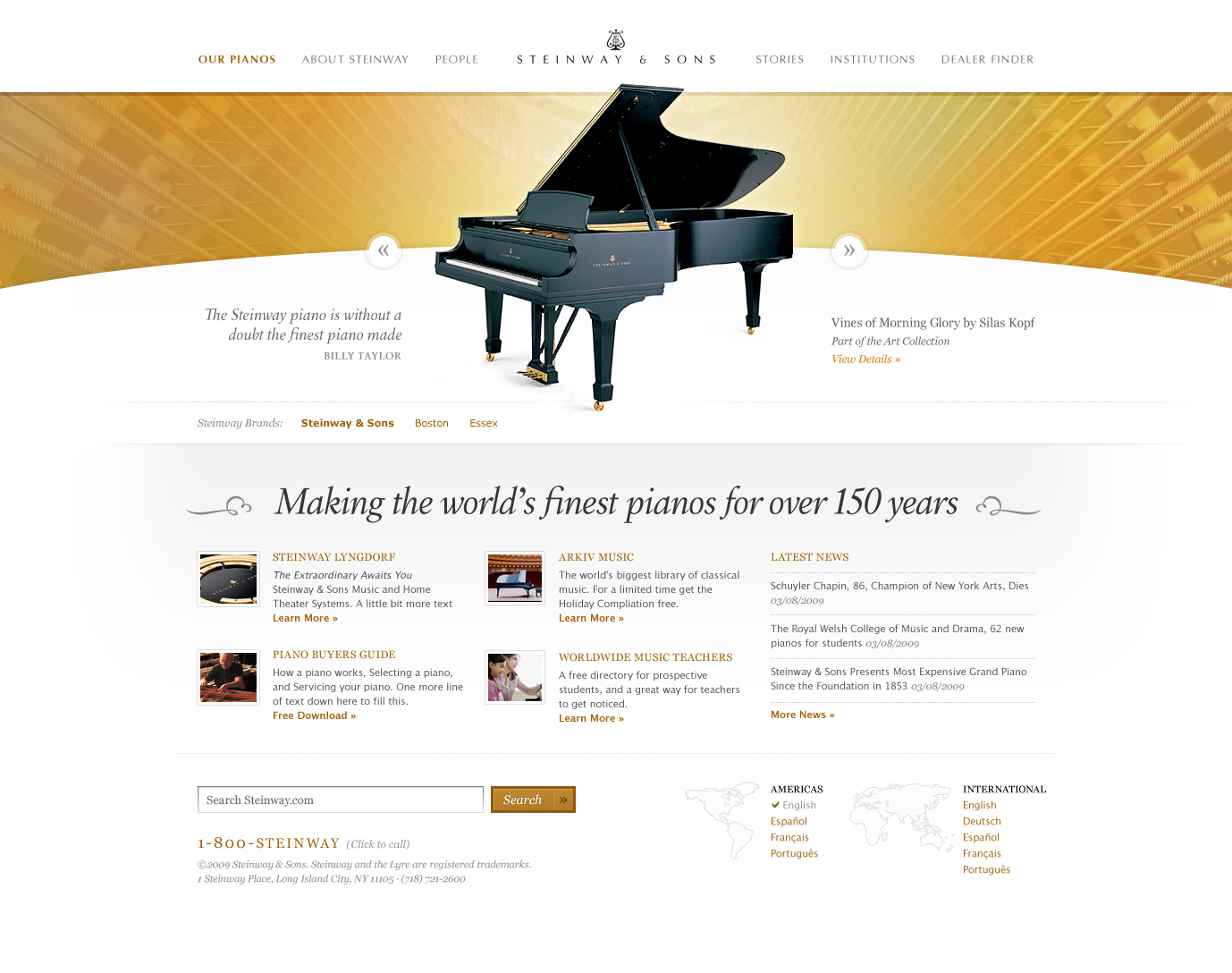 Steinway & Sons Final