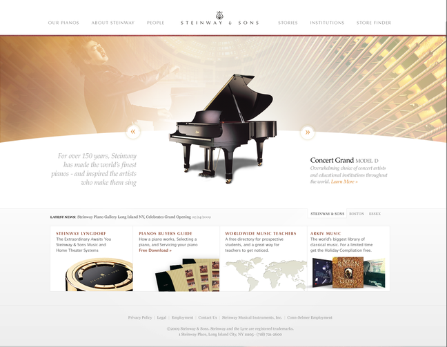 Steinway and Sons Draft 2
